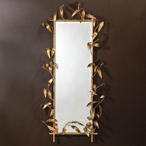 global views bamboo mirror